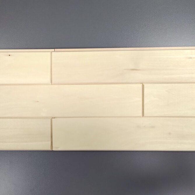Стеновой паркет из липы - 1 сорт